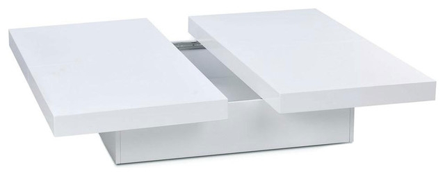 Magnificent Latest Large Low White Coffee Tables Regarding Low Square Coffee Table (Image 36 of 50)