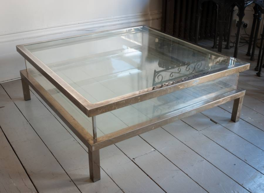 Magnificent Latest Large Square Glass Coffee Tables Inside Coffee Table Uk Wood (Image 41 of 50)