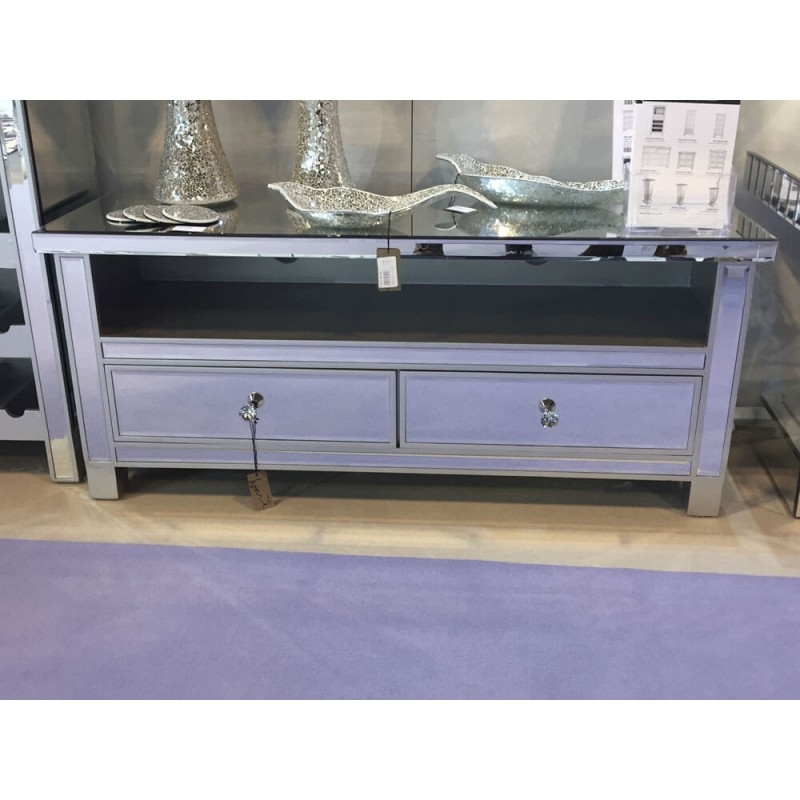 Magnificent Latest Mirrored TV Cabinets In Mirrored Furniture Cheap Prices Online For Mirror Glass (View 42 of 50)
