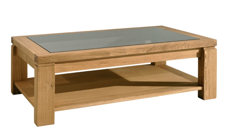 Magnificent Latest Oak And Glass Coffee Tables For Coffee Table Glass Top Display (View 23 of 50)