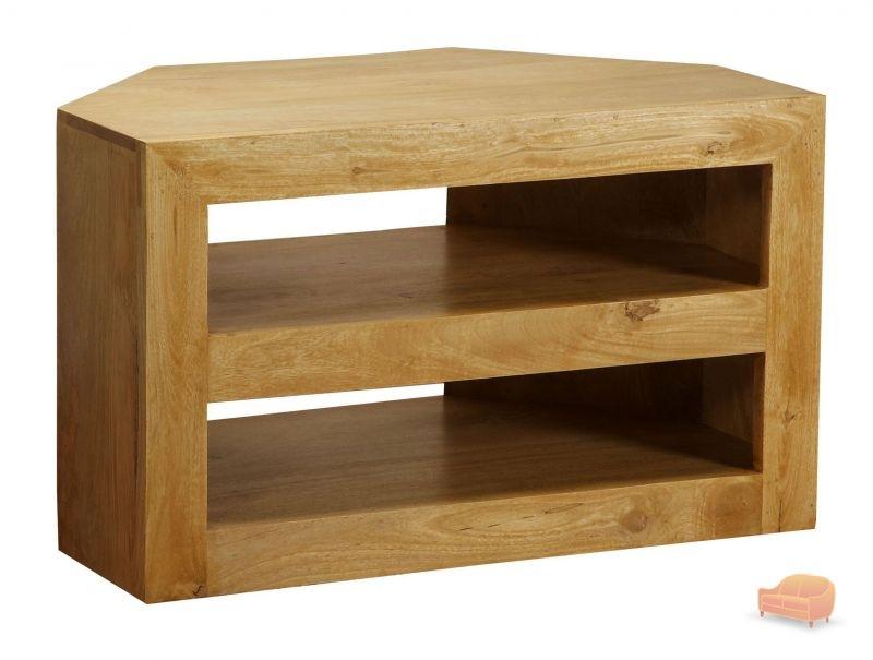 Magnificent Latest Oak Corner TV Cabinets Inside Tv Cabinets Units (Image 39 of 50)