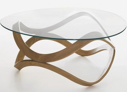 Magnificent Latest Oval Shaped Glass Coffee Tables In Oval Glass Coffee Table Metal Frame Modern Oval Shaped Glass (Image 38 of 50)