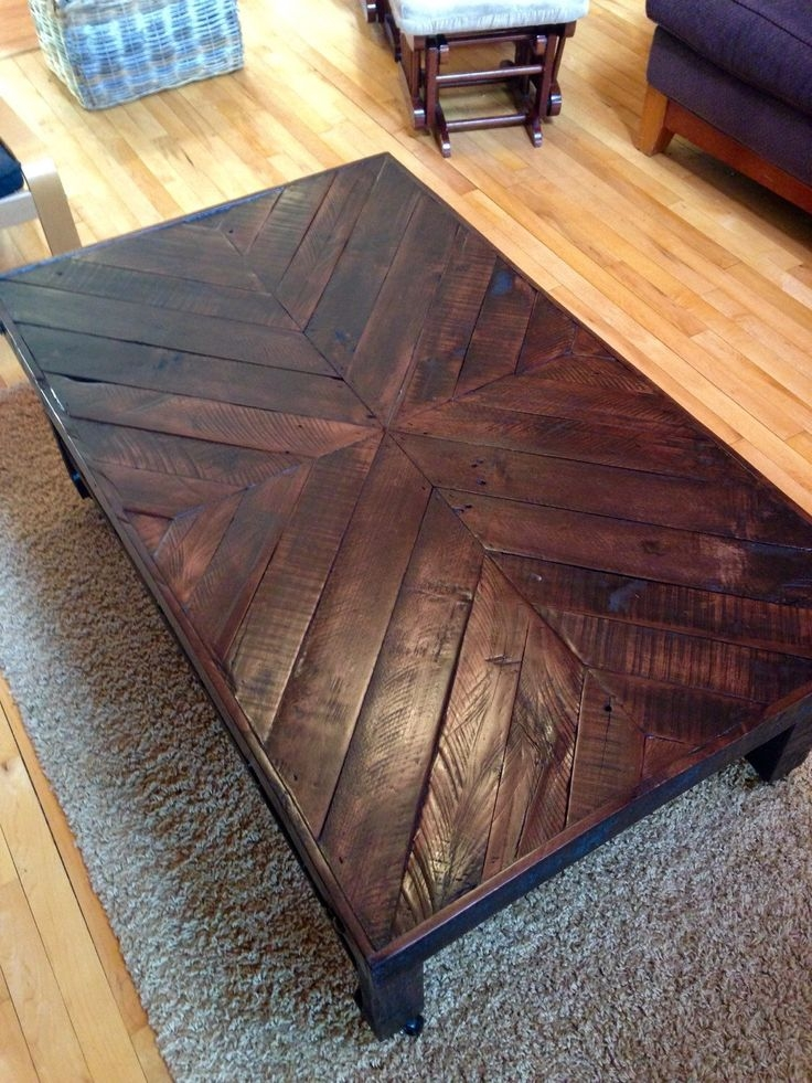 Magnificent Latest Reclaimed Wood Coffee Tables Throughout Best 20 Wood Coffee Tables Ideas On Pinterest Coffee Tables (View 29 of 50)