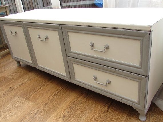 Magnificent Latest Shabby Chic TV Cabinets Pertaining To 95 Best Tv Stand Images On Pinterest Tv Stands Easels And Cabinet (View 39 of 50)
