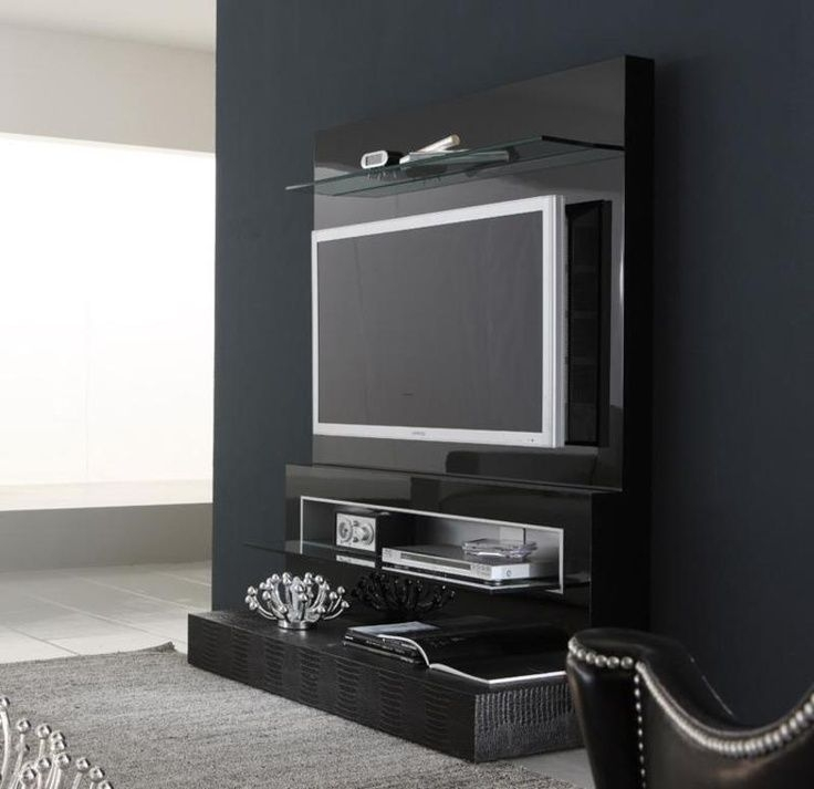 Magnificent Latest Small Black TV Cabinets Pertaining To Best 25 Modern Tv Wall Ideas On Pinterest Modern Tv Room Tv (Image 31 of 50)