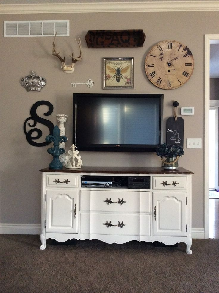 Magnificent Latest Wall Mounted TV Stands For Flat Screens Throughout Best 25 Decorating Around Tv Ideas Only On Pinterest Tv Wall (Image 32 of 50)