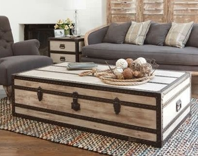 Magnificent Latest Wooden Trunks Coffee Tables Throughout Best 25 Trunk Coffee Tables Ideas On Pinterest Wood Stumps (View 11 of 40)