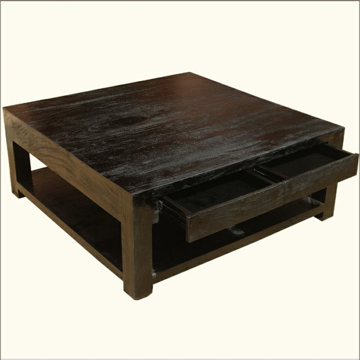 Magnificent New Big Square Coffee Tables Pertaining To Furniture Simple Big Square Coffee Tables Designs Large Square (View 17 of 50)