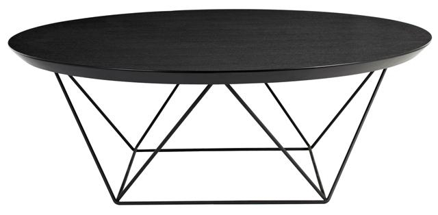 Magnificent New Black Circle Coffee Tables Pertaining To Small Black Coffee Table (View 3 of 50)