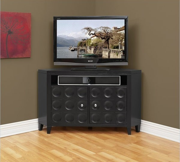 Magnificent New Contemporary Corner TV Stands Intended For Modern Tv Corner Unit Wooden Corner Tv Cabinets With Doors Corner (Image 39 of 50)