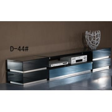 Magnificent New Mirrored TV Cabinets With D44 China Tempered Glass In Black Painting And Mdf Tv Cabinet (View 24 of 50)