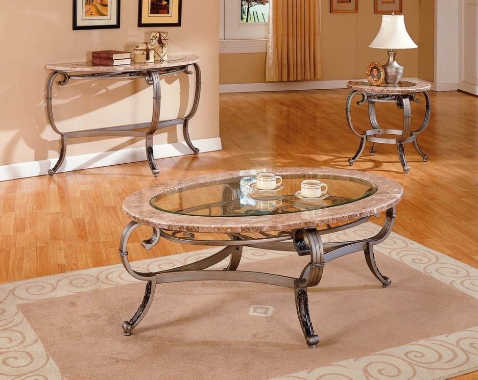 Magnificent New Oval Glass And Wood Coffee Tables With Regard To Living Room Wondeful Glass Top Coffee Table Furniture Ideas With (Image 35 of 50)