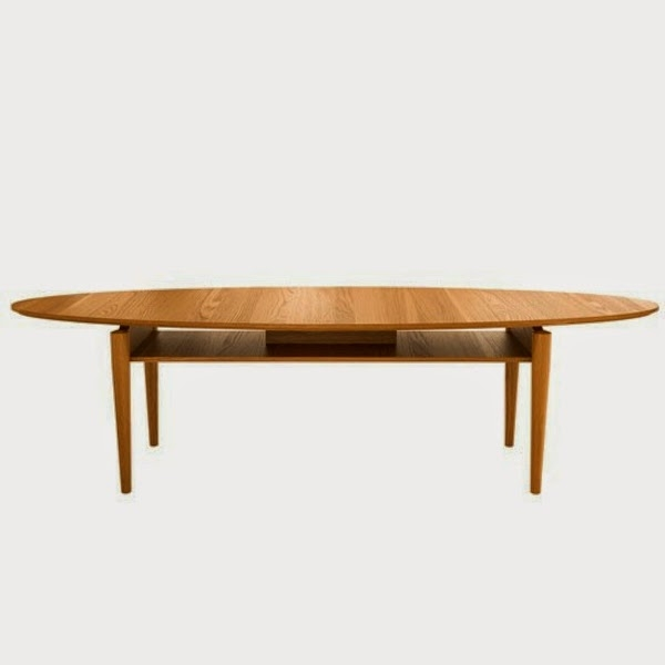 Magnificent New Oval Wood Coffee Tables Regarding 25 Elegant Oval Coffee Table Designs Made Of Glass And Wood (Image 35 of 50)