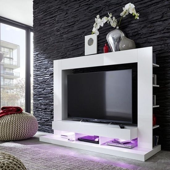 Magnificent New Shiny Black TV Stands In Best 20 White Gloss Tv Unit Ideas On Pinterest Tv Unit Images (Image 37 of 50)