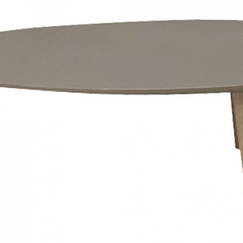 Magnificent New Sixties Coffee Tables In Sixties Coffee Table In Taupe Top And Oak Legs  (Image 27 of 39)