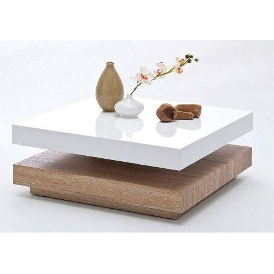 Magnificent New Square Shaped Coffee Tables Pertaining To White Square Coffee Table (View 15 of 50)