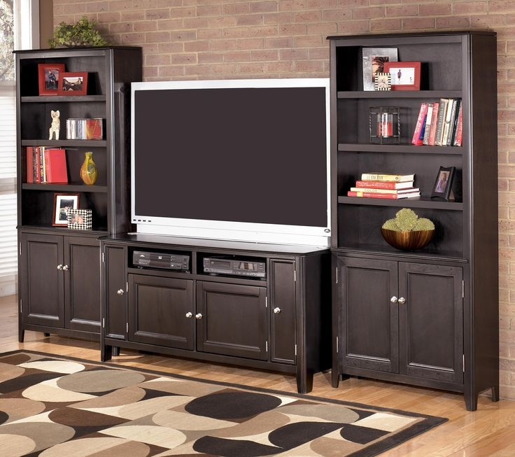 Magnificent New TV Stands With Bookcases In 11 Best Living Room Images On Pinterest Hemnes Living Room (Image 34 of 50)