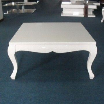 Magnificent New White Square Coffee Table Pertaining To White Square Coffee Table Center Table Simple Living Room (Image 32 of 50)