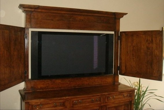 Magnificent Popular Enclosed TV Cabinets With Doors Regarding Classic Tv Cabinets For Flat Screens With Doors Advice For Your (Image 33 of 50)