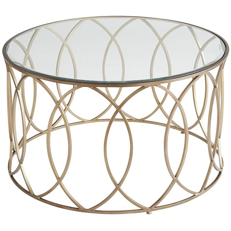 Magnificent Popular Glass Gold Coffee Tables Throughout Best 20 Gold Coffee Tables Ideas On Pinterest Gold Table (View 49 of 50)