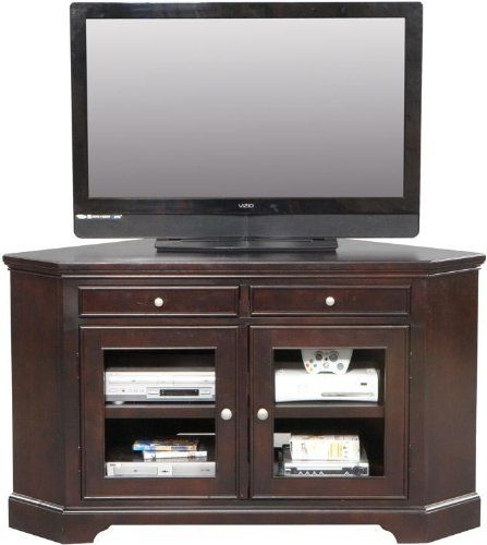 Magnificent Popular Oak Corner TV Stands For Flat Screens Inside 14 Best Tv Stands Images On Pinterest Corner Tv Stands Flat (Image 36 of 50)