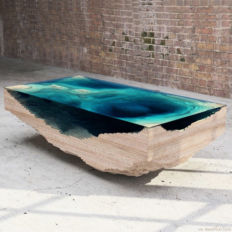 Magnificent Popular Quirky Coffee Tables Regarding 30 Unique Coffee Tables Cool Design Ideas For Unusual Living (Image 35 of 50)