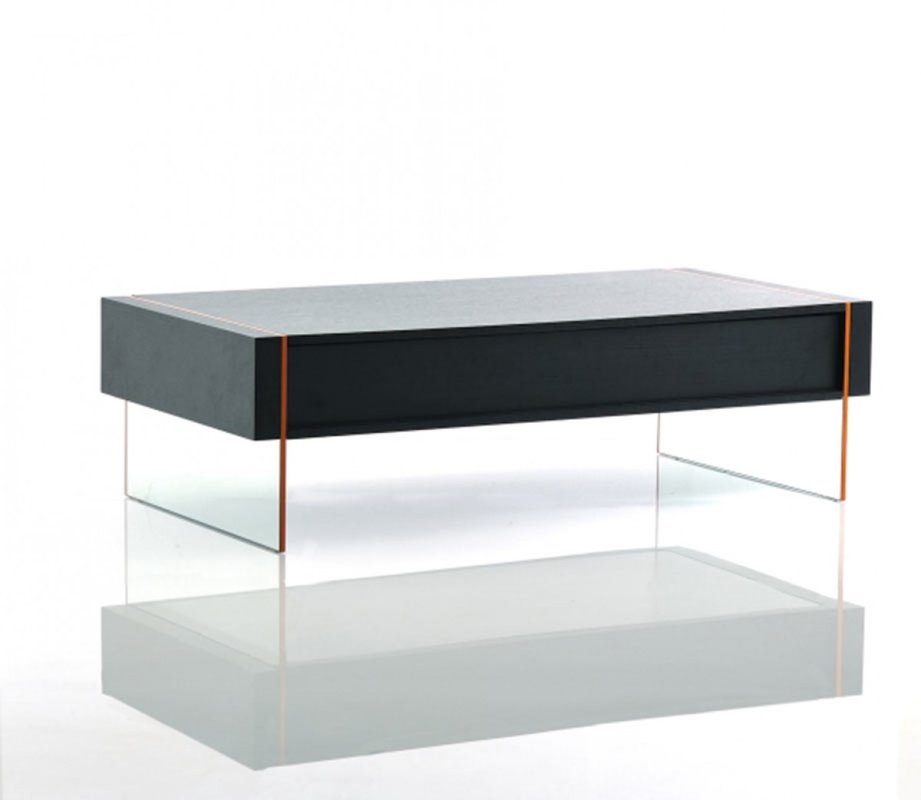 Magnificent Popular Rectangle Glass Coffee Table Intended For Orren Ellis Camron Modern Rectangle Glass Base Coffee Table Wayfair (View 24 of 50)