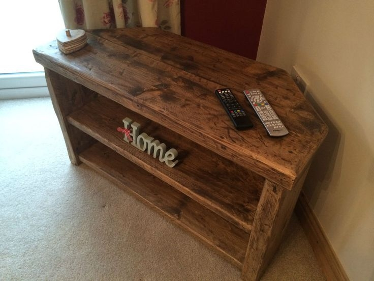 Magnificent Popular Rustic Looking TV Stands Intended For Best 25 Corner Tv Cabinets Ideas Only On Pinterest Corner Tv (Image 34 of 50)