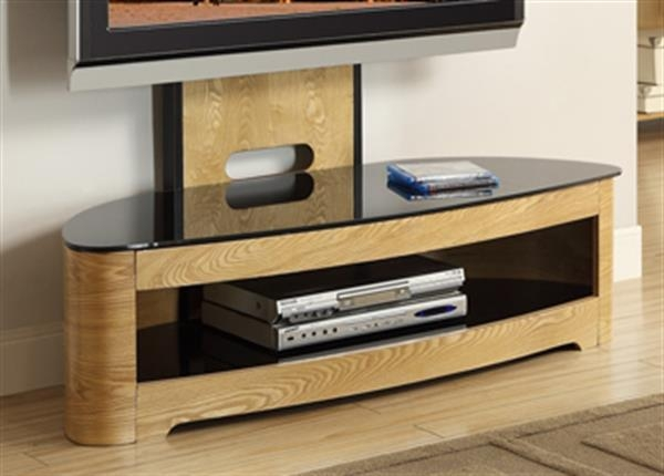 Magnificent Preferred Cheap Cantilever TV Stands Intended For Jf209 Jual Wood Oak Cantilever Tv Stand (View 40 of 50)