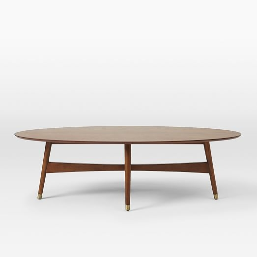 Magnificent Preferred Coffee Tables With Oval Shape Regarding Home Design Ideas Images Of Mid Century Coffee Tables Mid Century (Image 40 of 50)