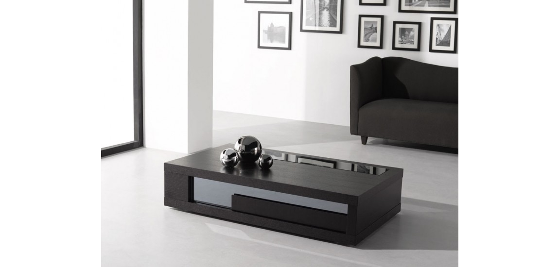 Magnificent Preferred Dark Brown Coffee Tables In Dark Brown Wenge Contemporary Coffee Table  (View 33 of 50)
