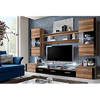 Magnificent Preferred Living Room TV Cabinets Inside Amazon Jump Tv Cabinet Wall Unit Living Room Entertainment (Image 32 of 50)
