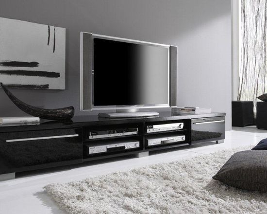 Magnificent Preferred Modern Black TV Stands Inside Modern Tv Stand (View 26 of 50)
