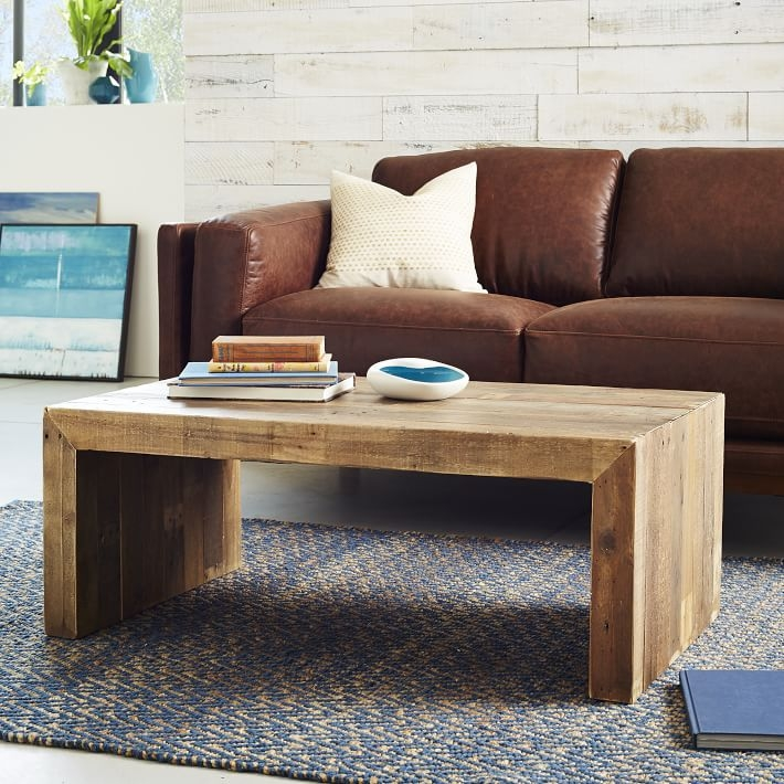 Magnificent Preferred Reclaimed Wood Coffee Tables With Emmerson Reclaimed Wood Coffee Table West Elm (View 10 of 50)