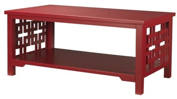 Magnificent Preferred Red Coffee Table For Popular Of Red Coffee Table Red Coffee Table Full Furnishings (Image 39 of 50)