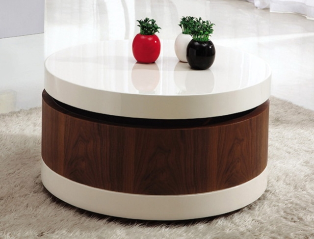 Magnificent Preferred Round Coffee Tables With Storage With Regard To Nice Decorating Ideas For Coffee Tables With 1000 Ideas About (Image 33 of 50)