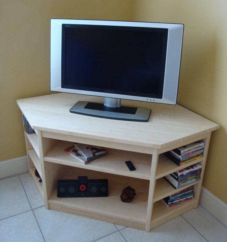 Magnificent Preferred TV Stands Corner Units For In Stock Bamboo Corner Tv Stand (Image 29 of 50)