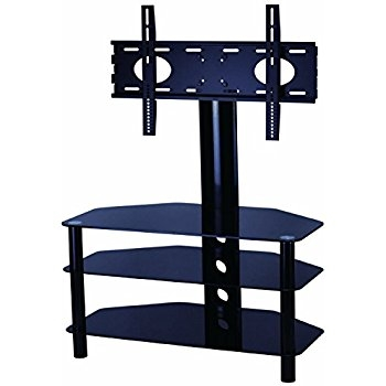 Magnificent Premium Cantilever TV Stands For Mountright Cantilever Glass Tv Stand For Up To 60 Inch Amazonco (Image 34 of 50)