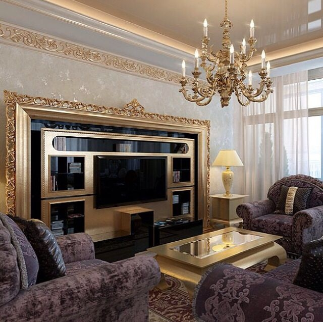 Magnificent Premium Classic TV Stands In Luxury Classic Living Room With Vismara Design Tv Stand Design (Image 35 of 50)