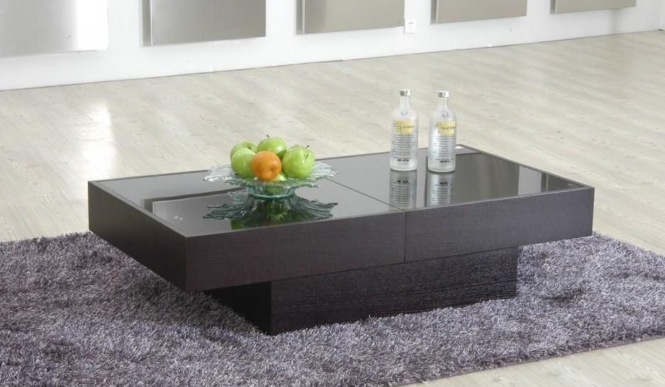Magnificent Premium Glass Top Storage Coffee Tables With Regard To Modern Coffee Table With Storage And Glass Top North Dakota  (Image 39 of 50)