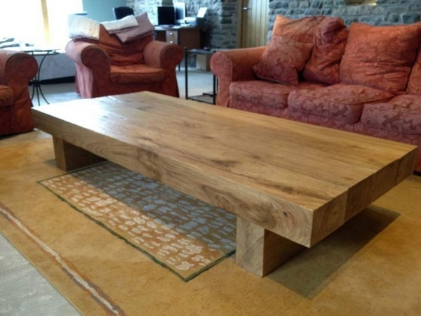 Magnificent Premium Large Wood Coffee Tables Pertaining To Wonderful Large Wood Coffee Table Catchy Large Coffee Tables Photo (Image 32 of 50)