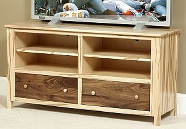 Magnificent Premium Maple TV Cabinets Inside Tv Stands Consoles Amish Oak Furniture Mattress Company Ohio (Image 29 of 50)