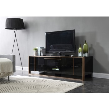 Magnificent Premium Modern Black TV Stands Within Find Modern Tv Stands Contemporary Tv Stands Plasma Tv Stands (View 14 of 50)
