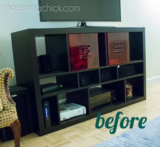 Magnificent Premium Painted TV Stands For Paint Ikea Furniture Updated Tv Stand Shoestring Chick (Image 36 of 50)