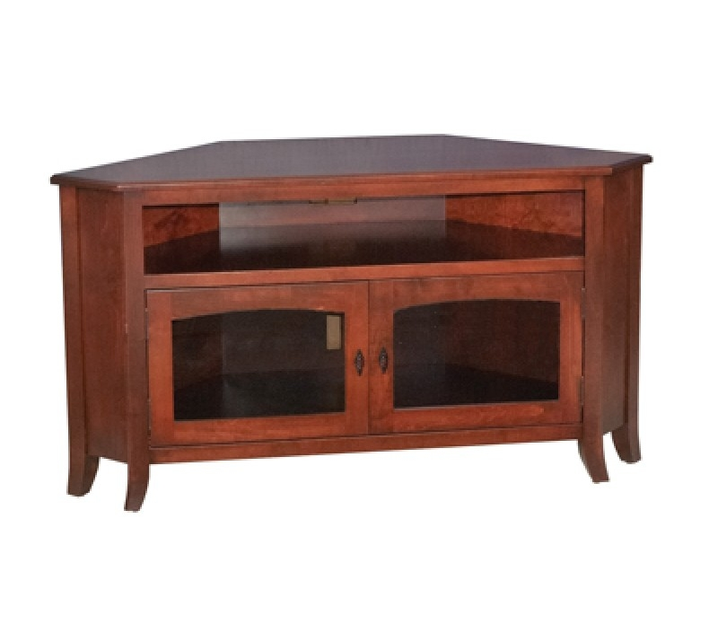 Magnificent Premium Real Wood Corner TV Stands In Mission Style Solid Wood Corner Tv Stand (View 38 of 50)