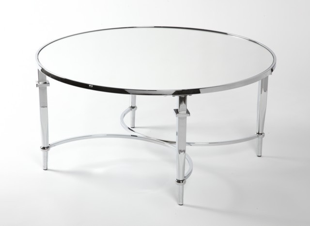 Magnificent Premium Round Chrome Coffee Tables Throughout Coffee Tables Ideas Awesome Round Chrome Coffee Table Modern (Image 34 of 50)