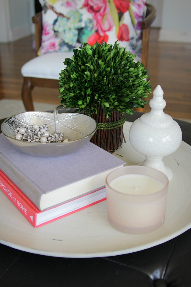 Magnificent Premium Round Coffee Table Trays Regarding How To Style A Round Coffee Table Decor Fix (Image 42 of 50)