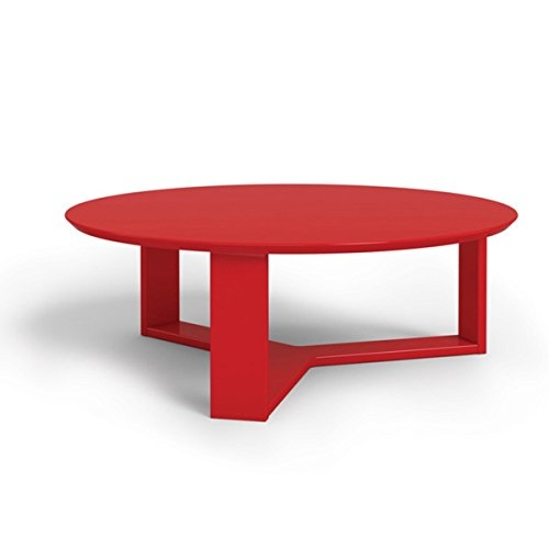 Magnificent Premium Round Red Coffee Tables In Contemporary Modern Coffee Tables White Wood Round Etc (View 29 of 50)