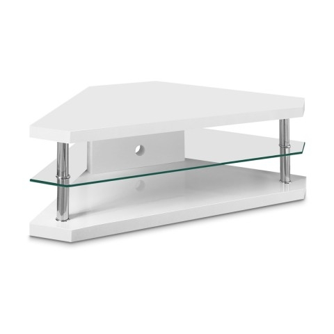 Magnificent Premium White Gloss TV Stands For Corner Tv Units Uk Country Oak Corner Tv Unit With Drawer Tv (Image 36 of 50)