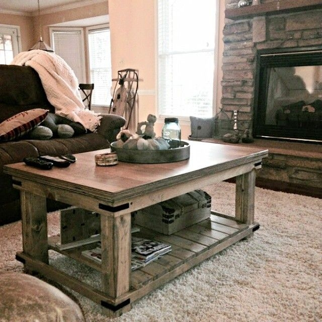 Magnificent Series Of Country Coffee Tables With Regard To Top 25 Best Farmhouse Coffee Tables Ideas On Pinterest Farm (Image 34 of 50)